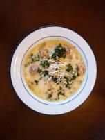 Keto Olive Garden Toscana soup