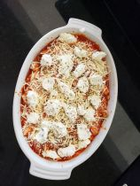 Chicken parm bake