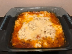 Ground beef parm casserole